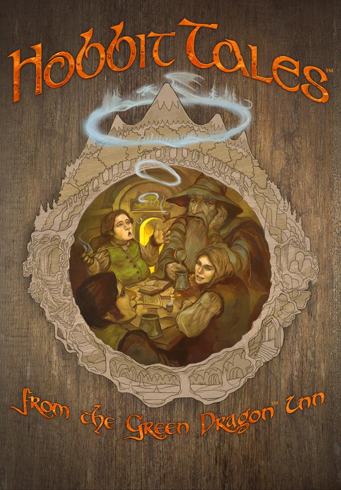 Hobbit Tales Cover by JonHodgson