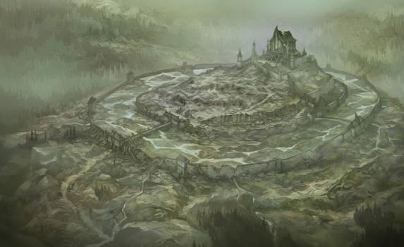 Dol Guldur Map for Heart of the Wild