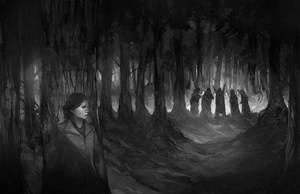 World War Cthulhu - Into the Woods by JonHodgson