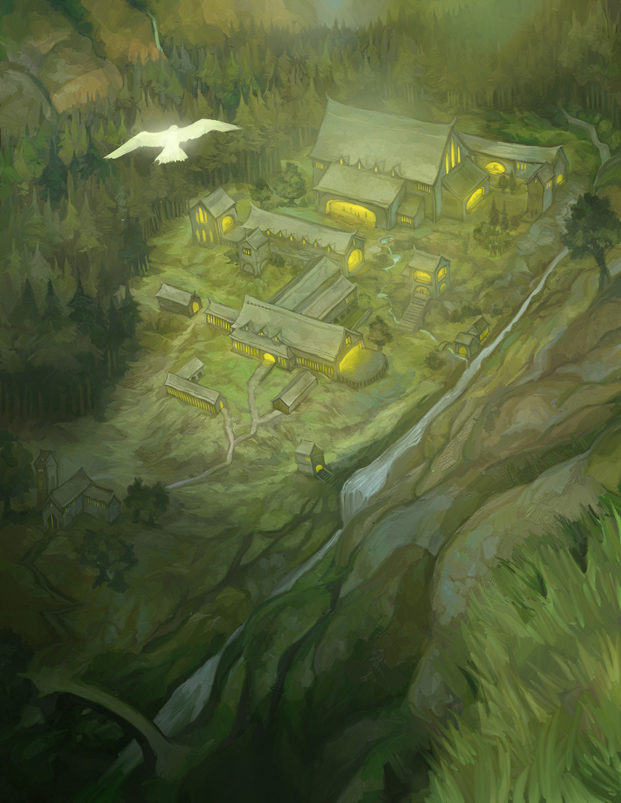 Rivendell by JonHodgson