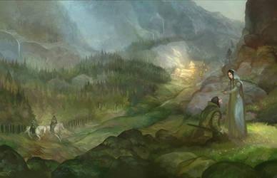 Rivendell Cover Full Wrap by JonHodgson