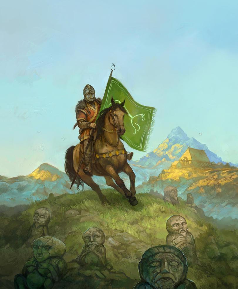 Horse Lords of Rohan by JonHodgson