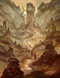 Earth Cult Temple by JonHodgson