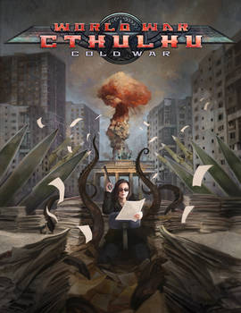 World War Cthulhu: Cold War Cover