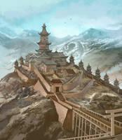 Dragon Clan Stronghold by JonHodgson