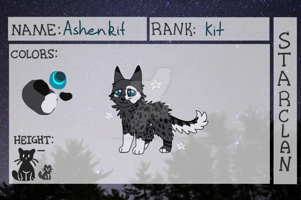 Ashenkit COTB by StormClawPonyRises
