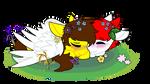 [Valentines] Sleepy cuddlez !!!