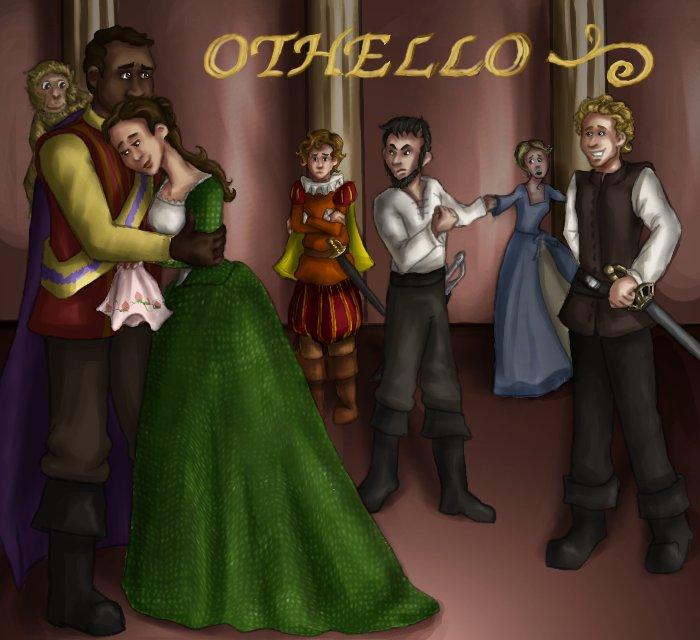 Disney s Othello by ThisBirdTooHasFlownOthello And Desdemona Art