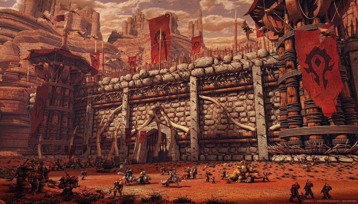 Orgrimmar: Horde Territory by imaDreamwalker