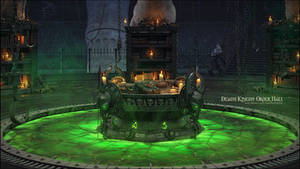 Death Knight Order Hall by imaDreamwalker