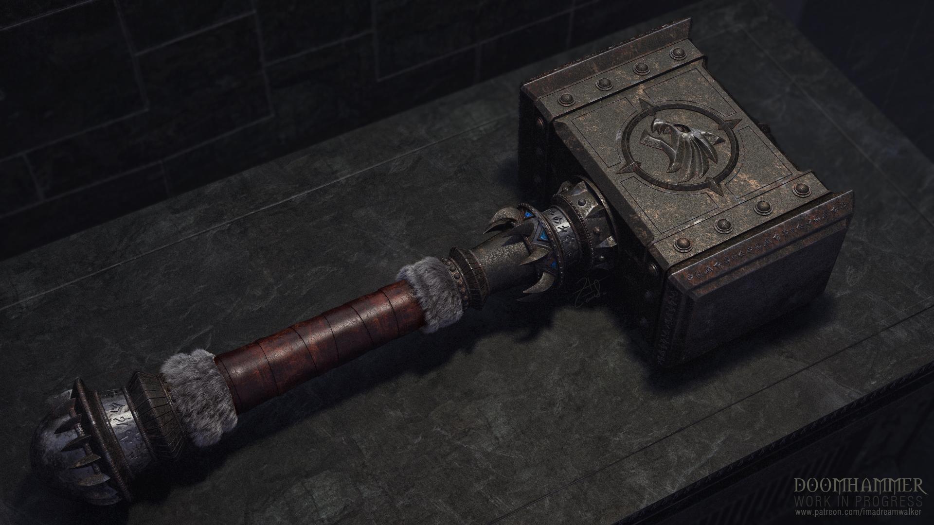 Doomhammer: Work in progress. by imaDreamwalker