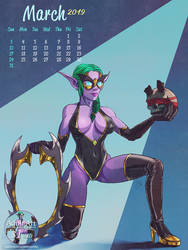 Demon hunter's Huntress by imaDreamwalker