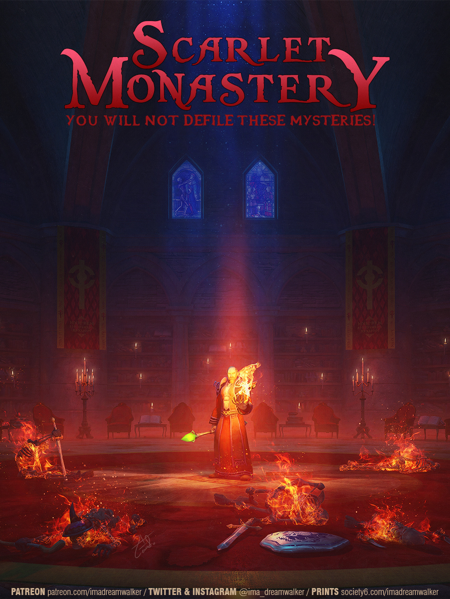 Scarlet Monastery: Library