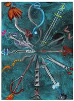 Swords of the Zodiac by Tresity