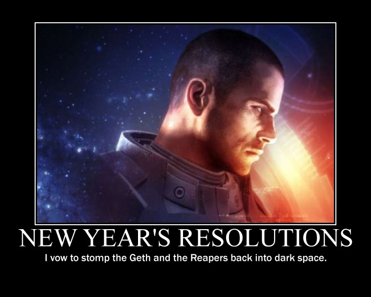 Commander shepard new year by iceman-3567