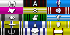 Meritorious Service Awards by LordTrekie