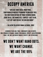 Occupy America by MissKorya