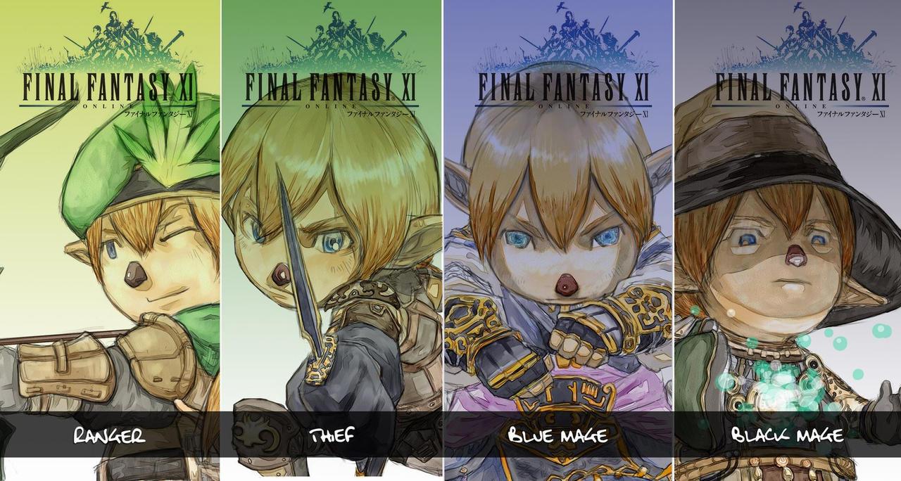 Final Fantasy: Vision of Taroh by Xenogia