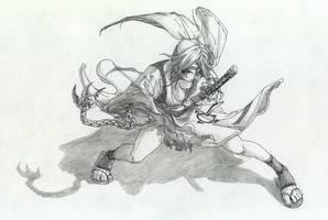 Guilty Gear XX - Baiken FANART by Xenogia