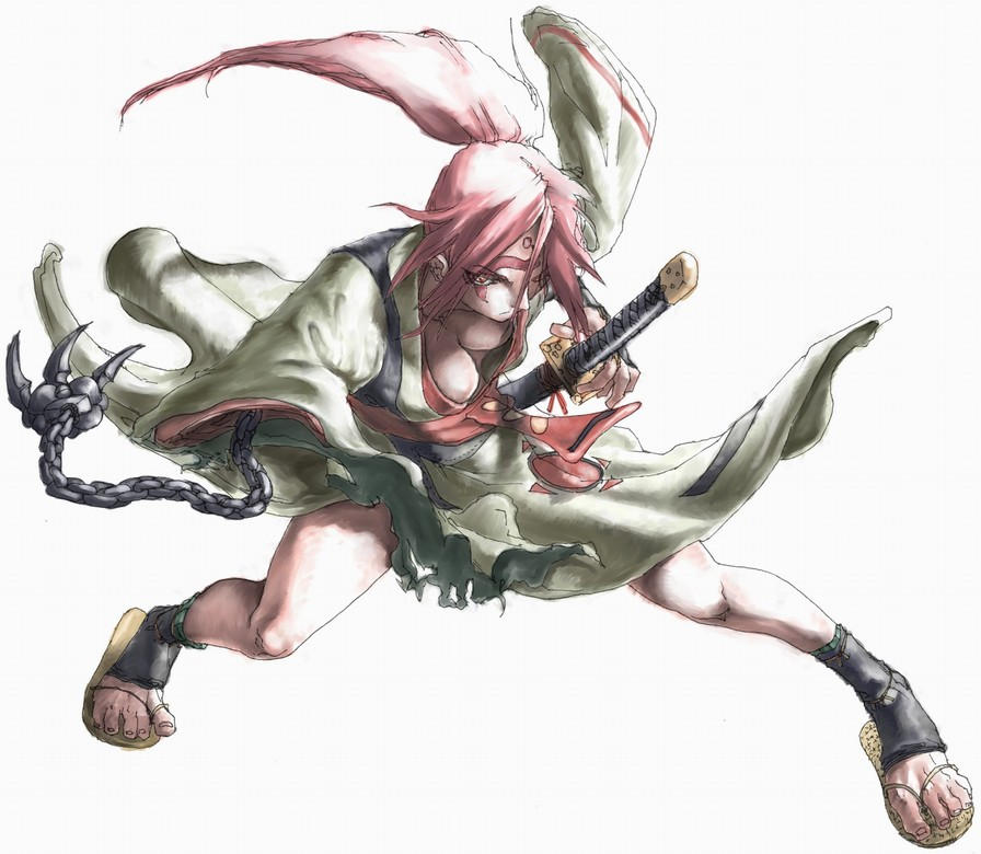 Guilty Gear Wallpaper: Baiken -color- By Xenogia On DeviantArt