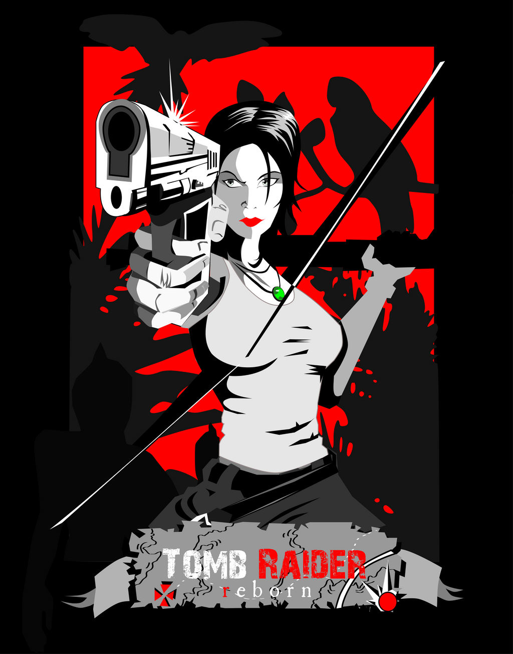 Tomb Raider by shadowfaxgait