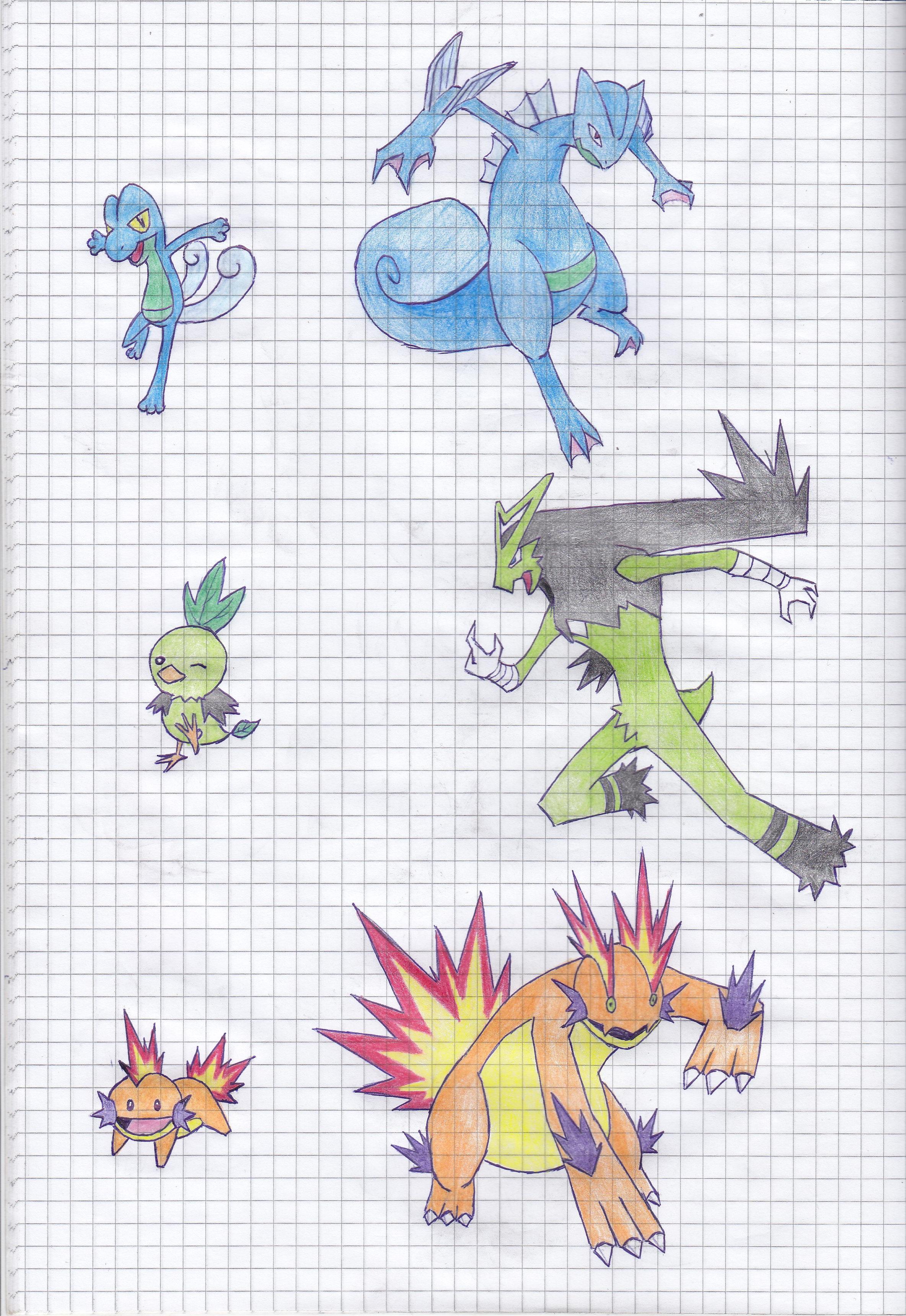 Ice Type Pokemon Wallpaper Fakemon Hoenn Starters...