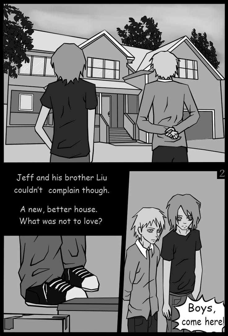 Jeff The Killer Manga 1 Page2  Jeff the killer manga