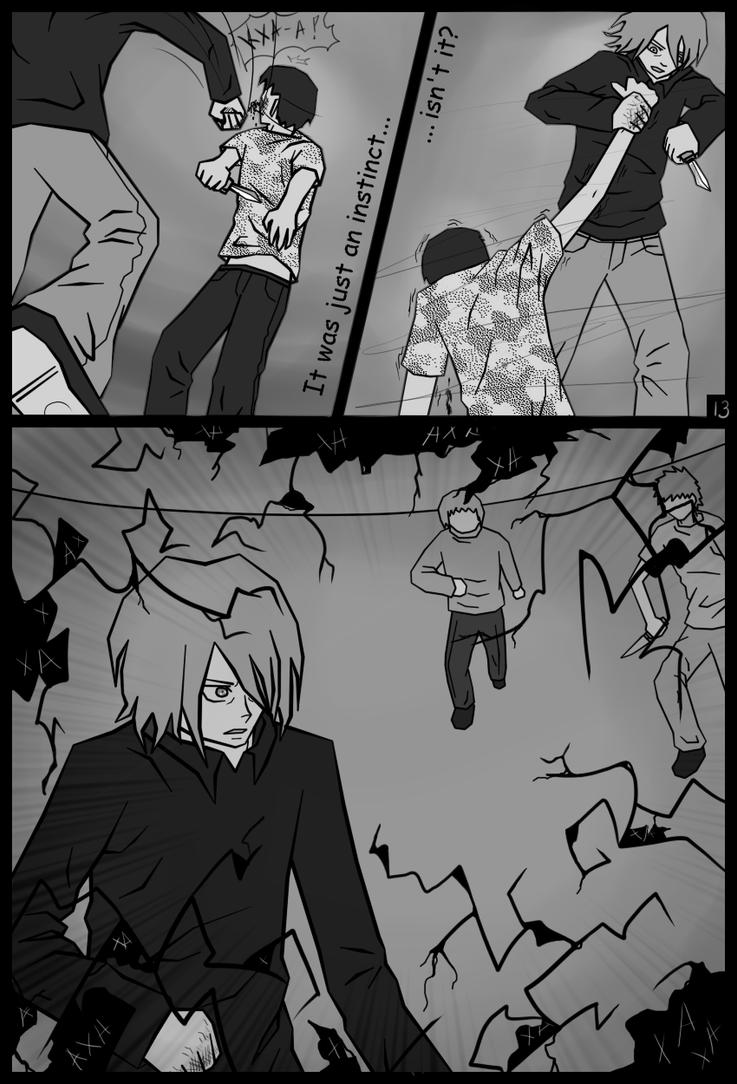 Jeff The Killer Manga 1 Page13 (Jeff the kille...