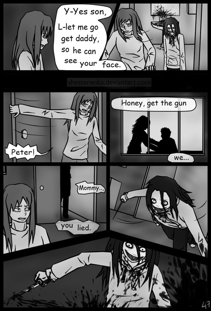 Jeff The Killer Manga 1 Page47 (Jeff the kille...