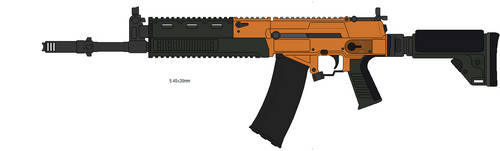 Old Wither Empire AR45 by generalhanz
