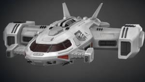 Sci Fi Dropship 02