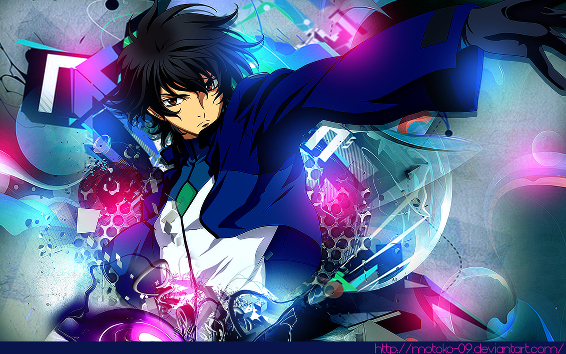Gundam 00 wallpaper by motoko-09