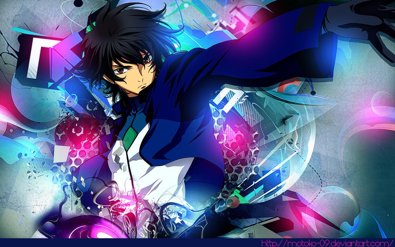 Gundam 00 wallpaper by motoko-09