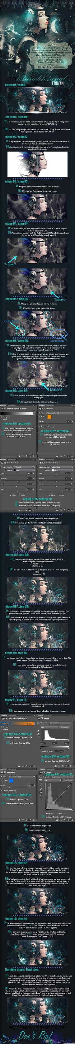 Queen of the moon tutorial FR/EN by motoko-09