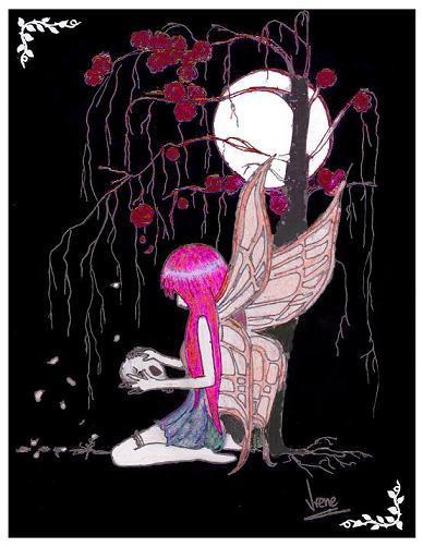 Melancholic Fairy by Loirene