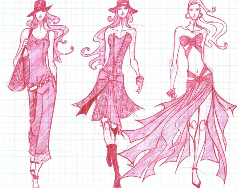Fashion Sketches Trends