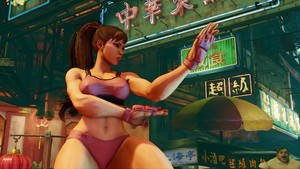 Street Fighter V - Chun Li by SagaRHCP88
