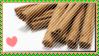 I love cinnamon stamp by magical-bra