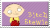 Bitch Stewie stamp by magical-bra