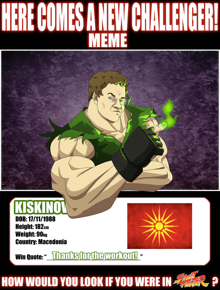 New Challenger - Kiskinov by marvelleftw