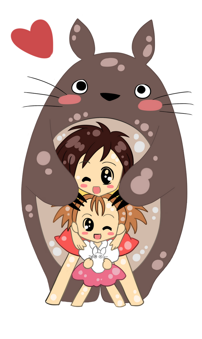 Totoro by OchaHolique