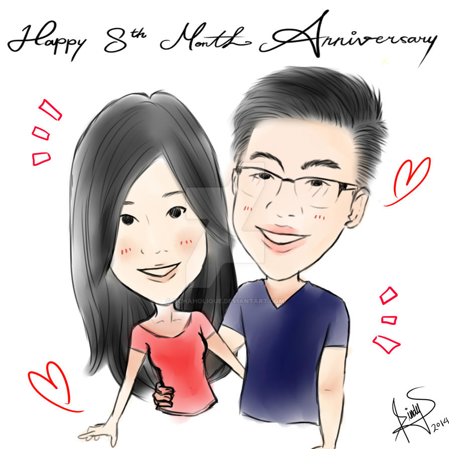 8 Month Anniversary by OchaHolique