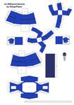 Papercraft Kimwhee part 2