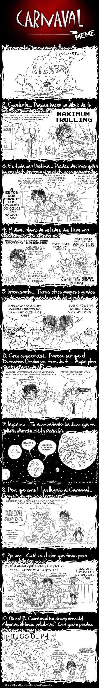 Carnaval Meme made in Kibaro by Kibaro-Kun on DeviantArt