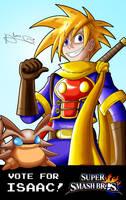 Vote Isaac for Super Smash Bros! by Kibaro-Kun