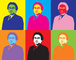 Satoru Iwata's Pop Art by Kibaro-Kun