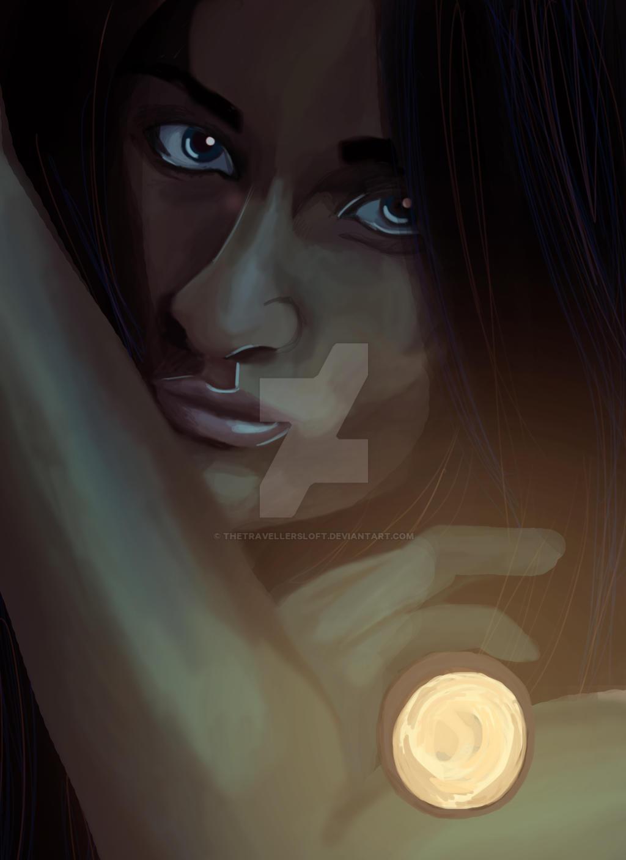 In the dark by thetravellersloft