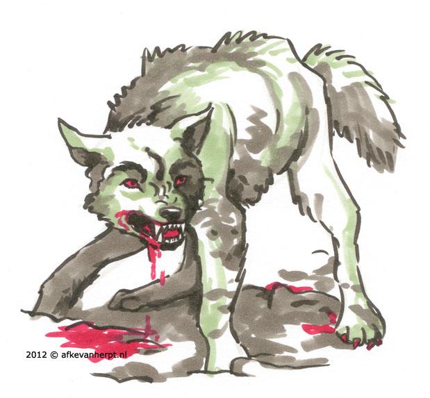 Werewolf by afke11