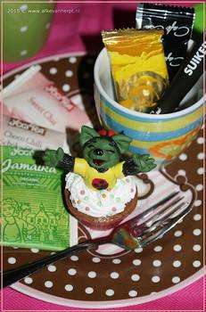 Cupcake Cutie - Illustration