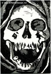 Skull print by afke11